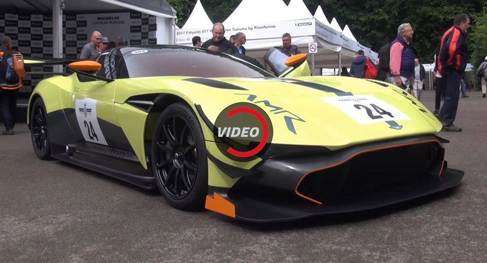Experience The Aston Martin Vulcan Amr Pro At The 2017