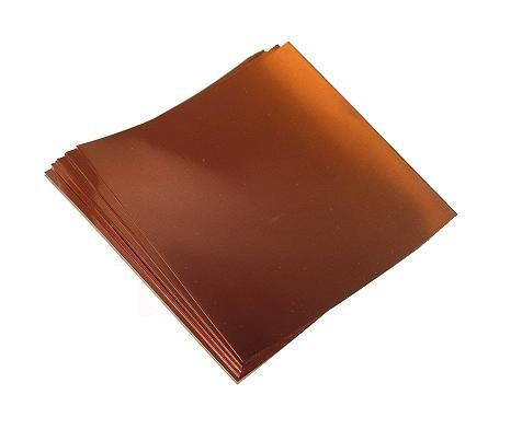 12 X 12 16 Mil 26 Ga Copper Sheets 2 Copper Sheets Copper Ceiling Copper Wire Jewelry