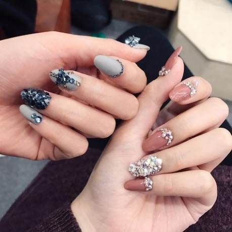 super nails long gel nailart ideas nails nailsgel