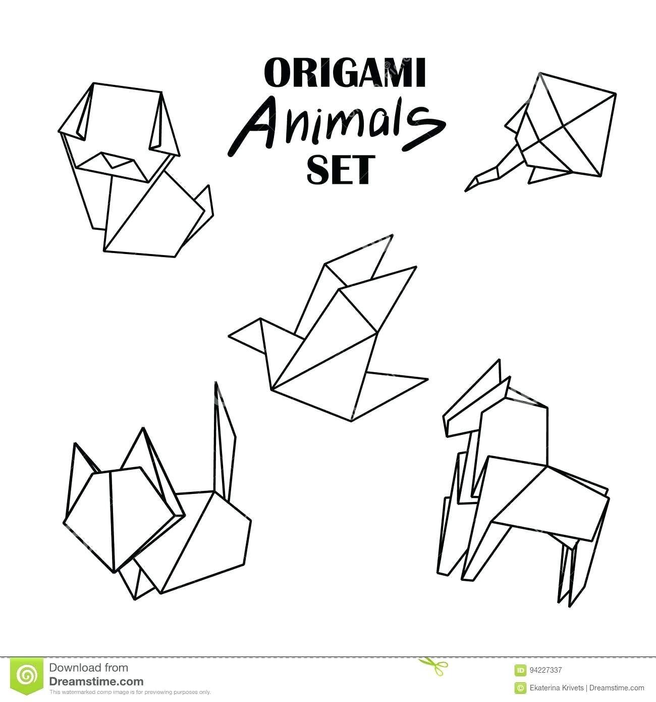 Origami Animals | 1390x1300