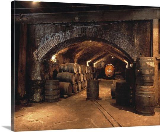 Buena Vista Wine Caves Wine Barrels Sonoma County