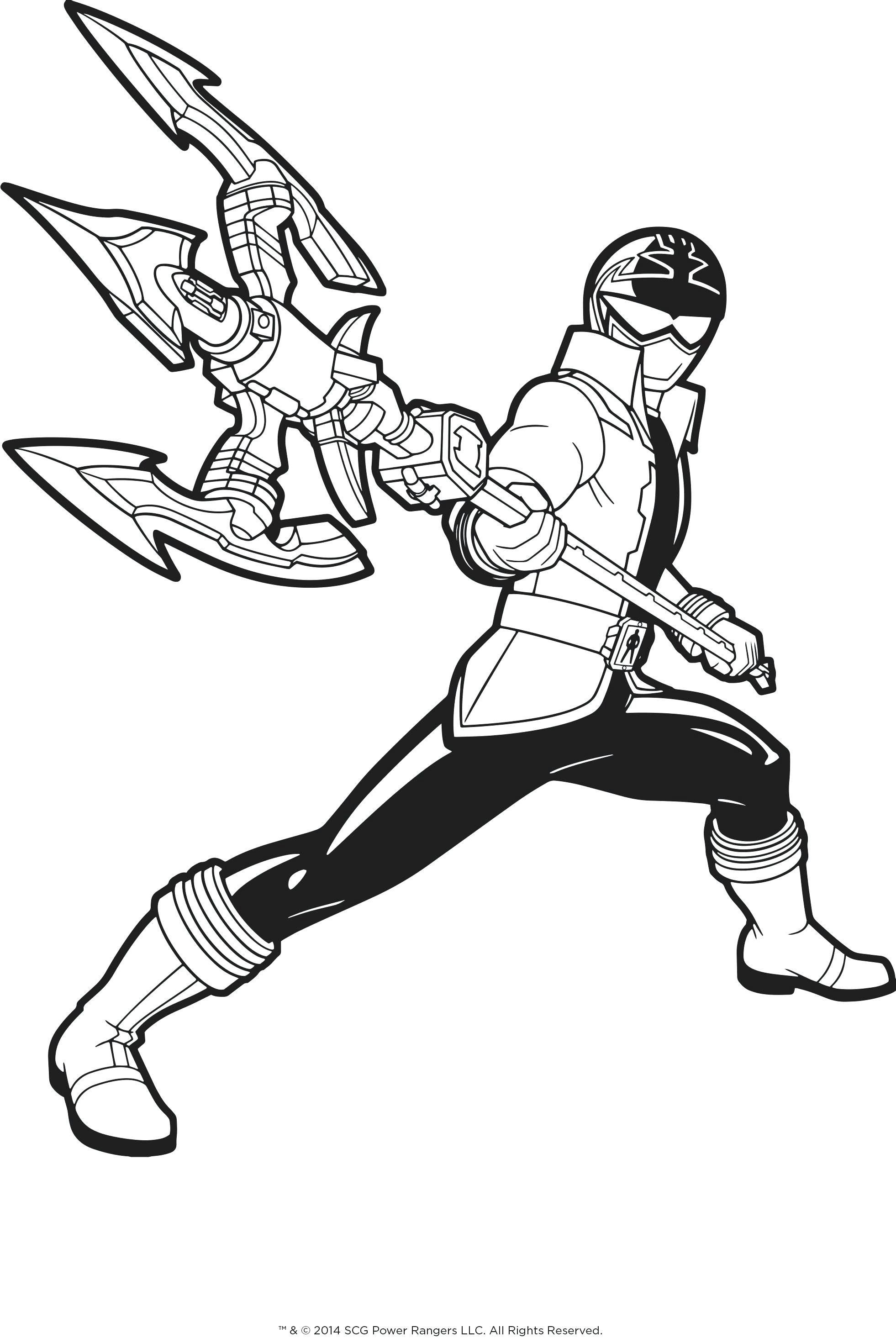 Power Ranger Coloring Pages Awesome Power Rangers Dino ...