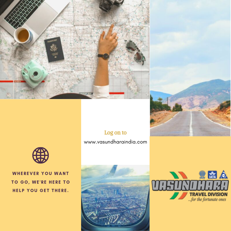 Wherever you wish to go, we are here to get you there...  Vasundhara Travel Division  Call-9425600535 Write-travel@vasundharaindia.com  #airticket #cheapairticket #holidaypackages #hotels #travelinsurance #visassistance #vasundhara #overseastransfer #forex