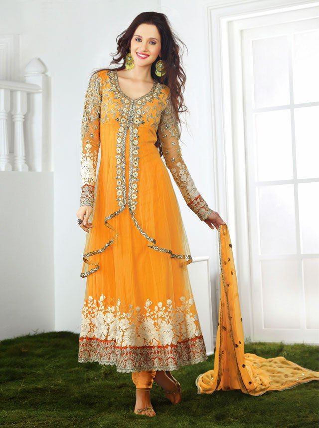 Embroidered Pakistani Dresses 2015 Party