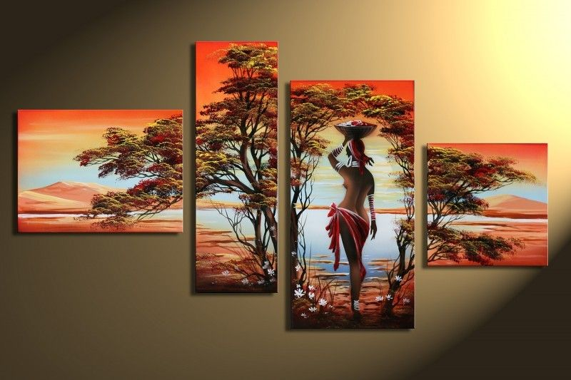 Nude Oil Painting By Numbers On Canvas Digital Sexy Gril