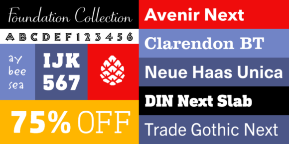 Font dňa – Monotype: The Foundation Collection   https://detepe.sk/font-dna-monotype-the-foundation-collection