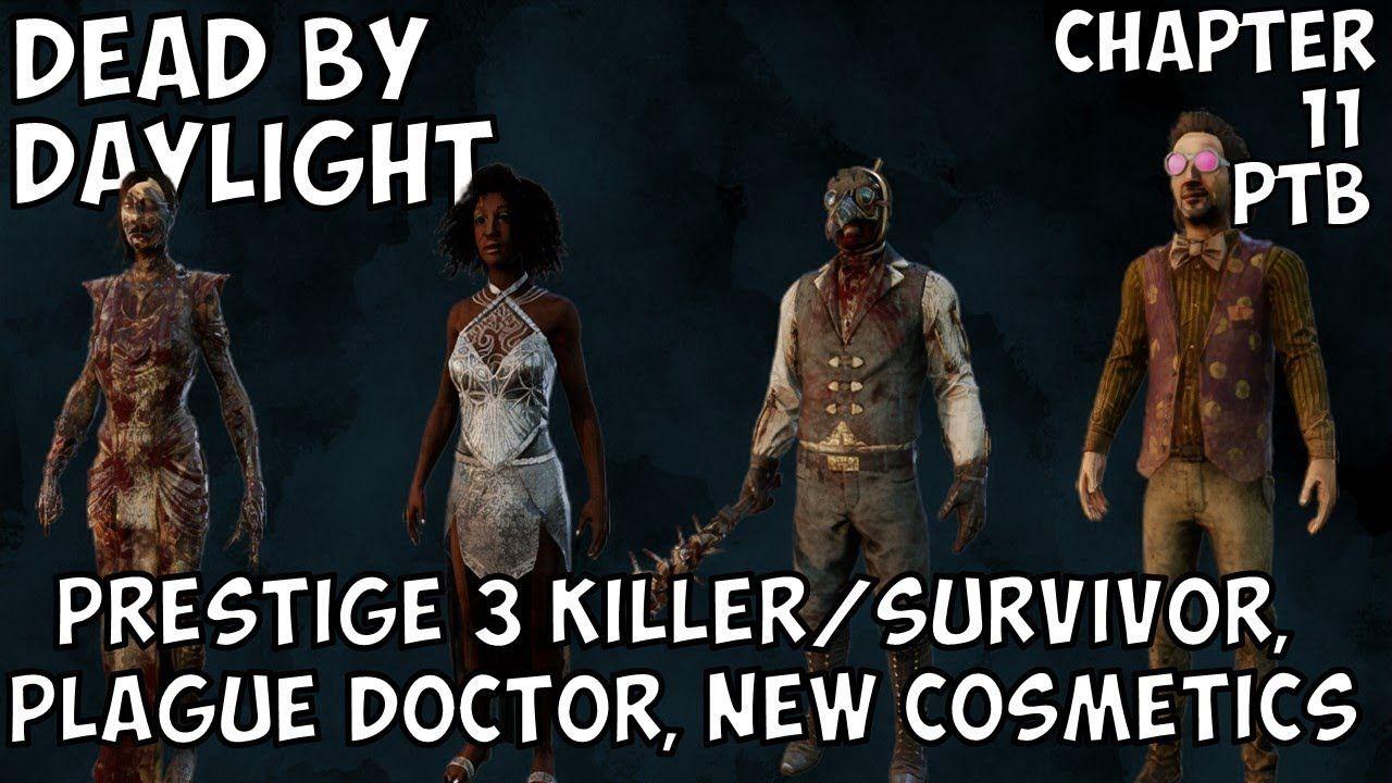 dead by daylight prestige outfits