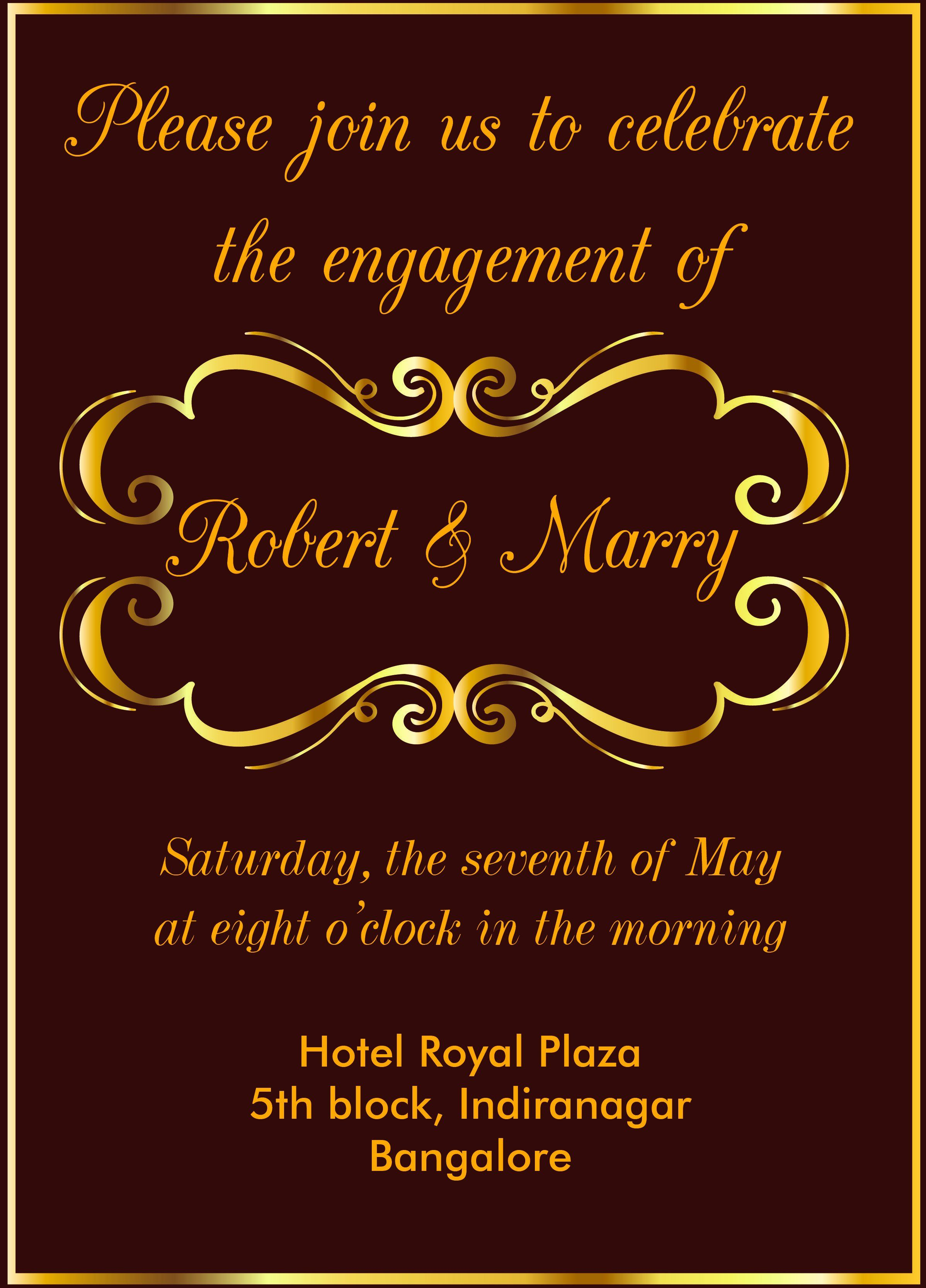 35 Free Engagement Party Invitation Template In 2020 Free