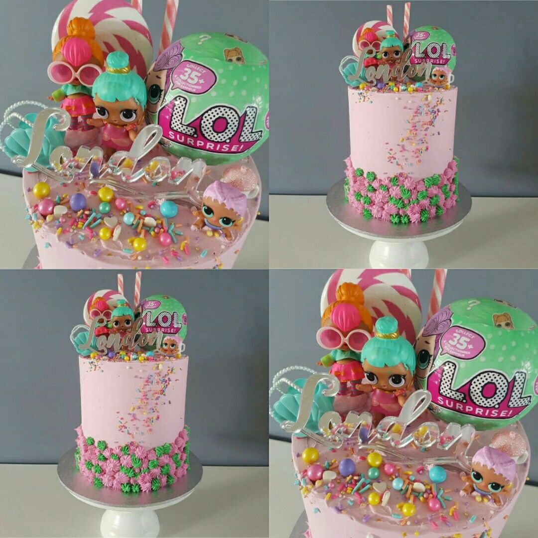 Lol Surprise Birthday Party Lol Surprise Dolls Lol Surprise Cake