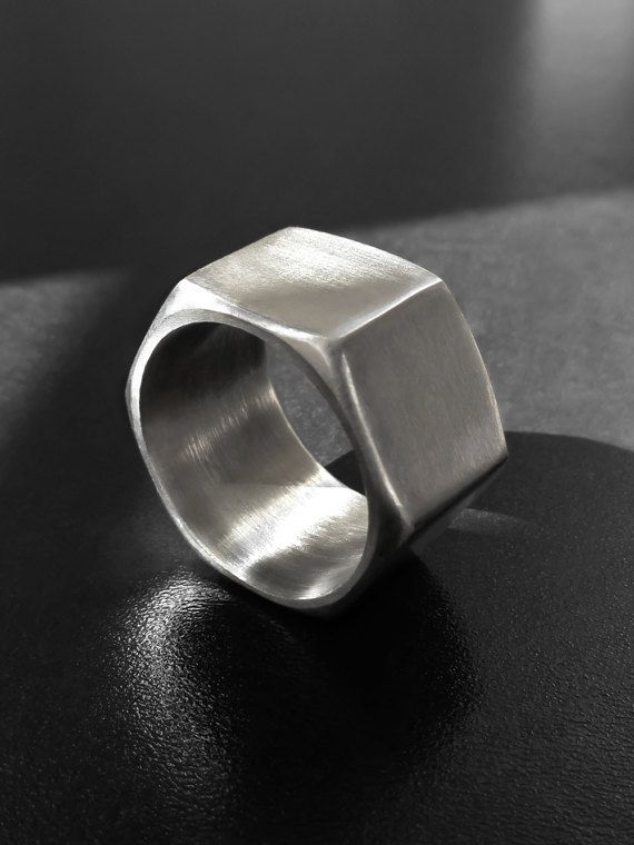 #Industrial Hex nut #ring, size 9.5