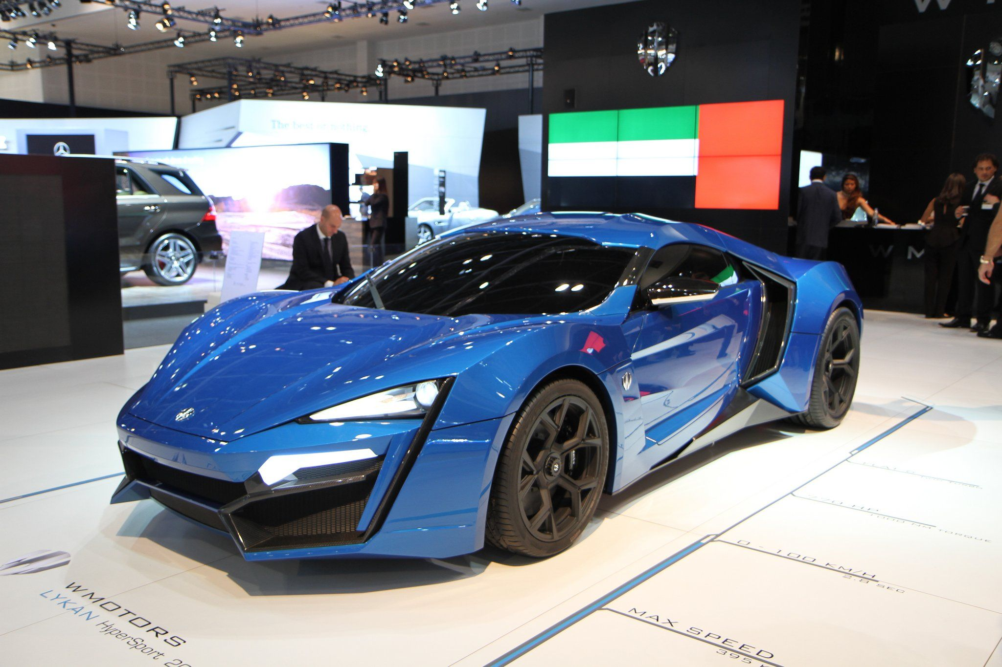 Blue Lykan Hypersport #2 | Dream Cars Wish List | Pinterest | Lykan ...