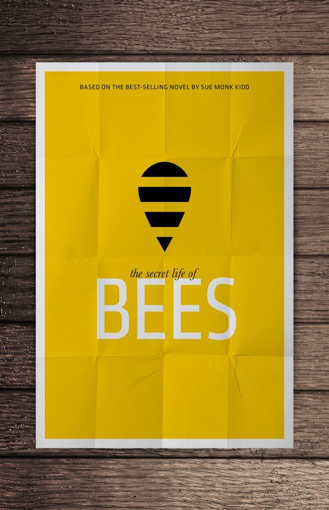 The Secret Life Of Bees With Images Movie Posters Minimalist