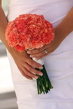 Save Up To On Orange Carnation Braidesmaid Bouquets And Bridal Online Whole Bunchesdirect