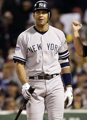 Alex Rodriguez. This is my favorite baseball player. 13. A-Rod.
