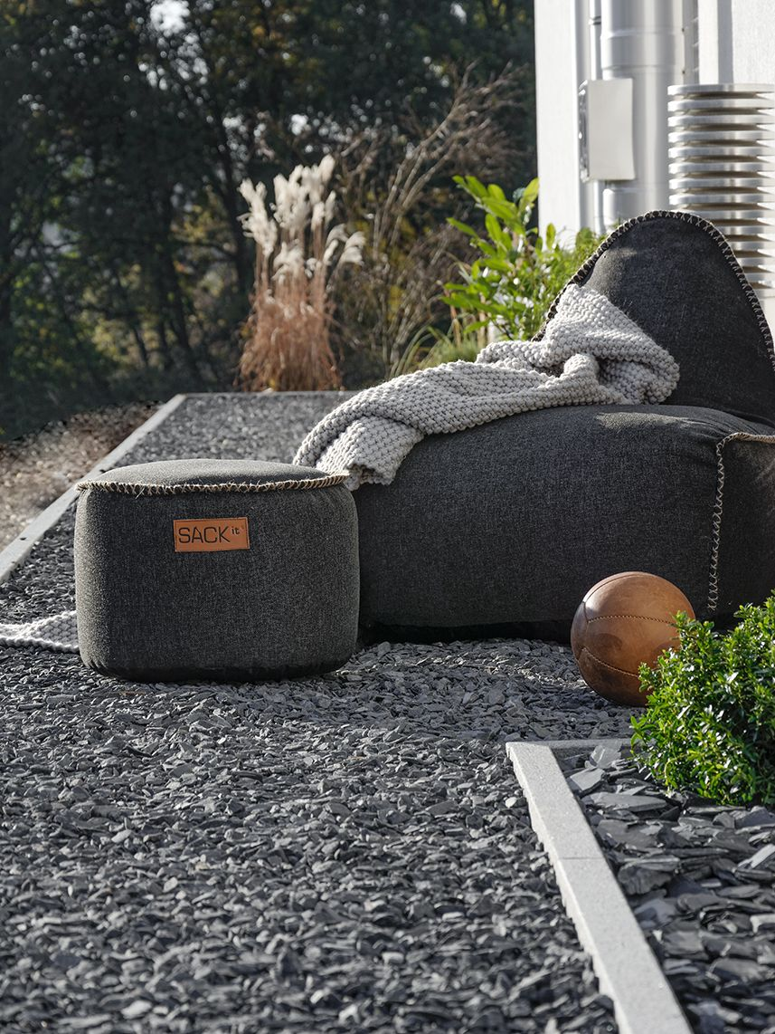 Sack It Sack It Retro It Outdoor Sitzsack Braun In 2019 Outdoor Space