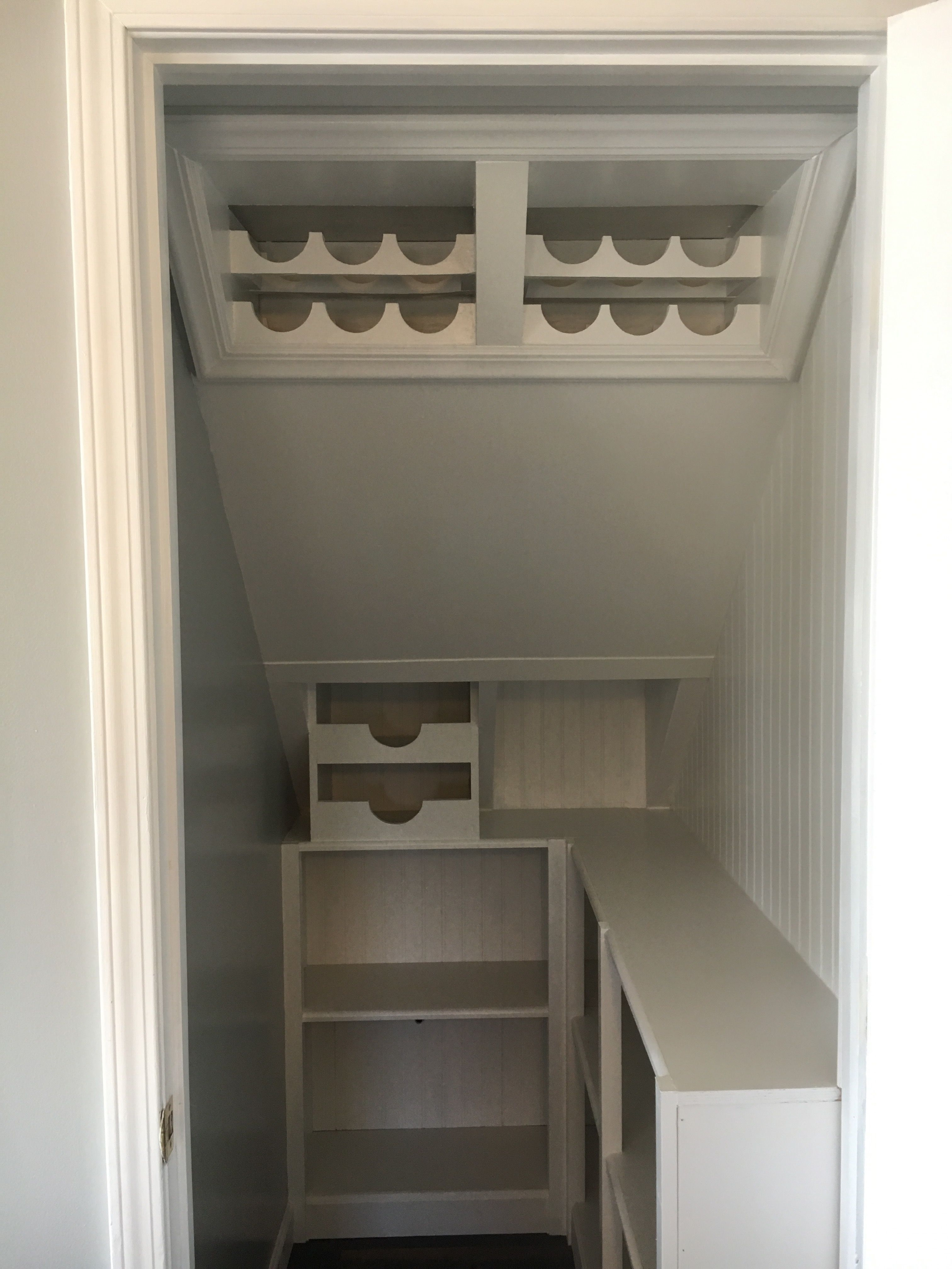 Under Stairs Kitchen Pantry Closet Under Stairs Understairs Storage Under Stairs Pantry