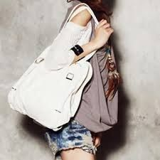 Convertible backpack. Would really love a white bag.