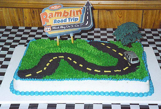 Ramblin Road Trip Cake