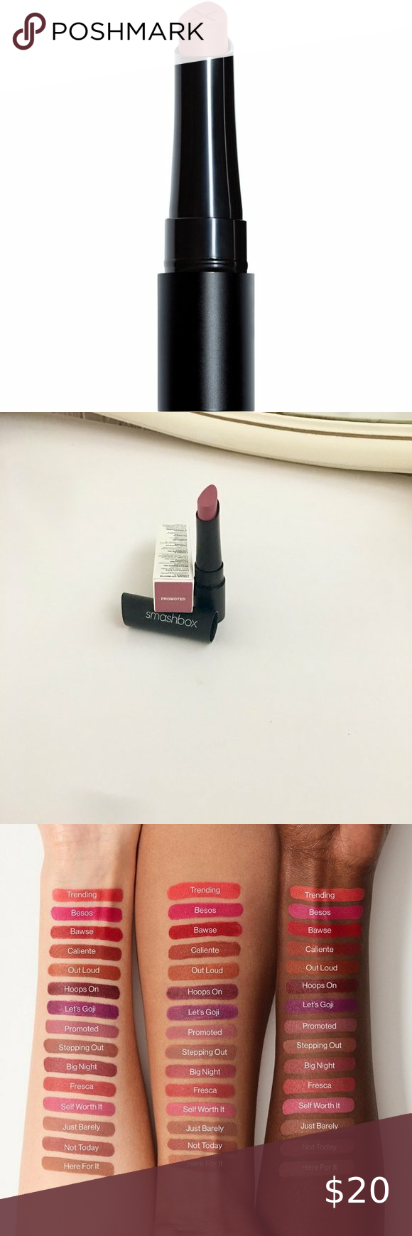Smashbox Cream To Matte Lipstick In Promoted In 2020 Lipstick Matte Lipstick Long Wear Lipstick