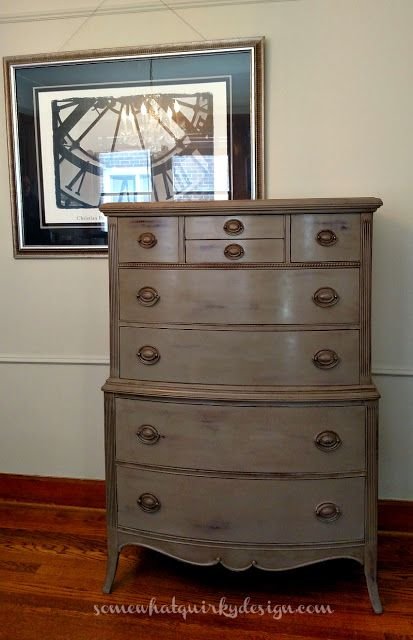 Bedroom Dressers Coco Over Primer Red 2 Color Distress Somewhat Quirky Highboy