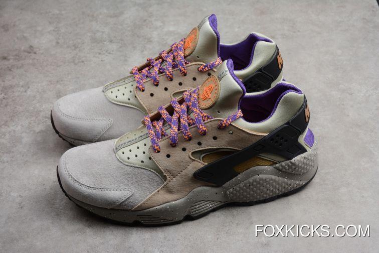 Women/Men Nike Air Huarache Run Premium ACG Linen/Golden Beige ...
