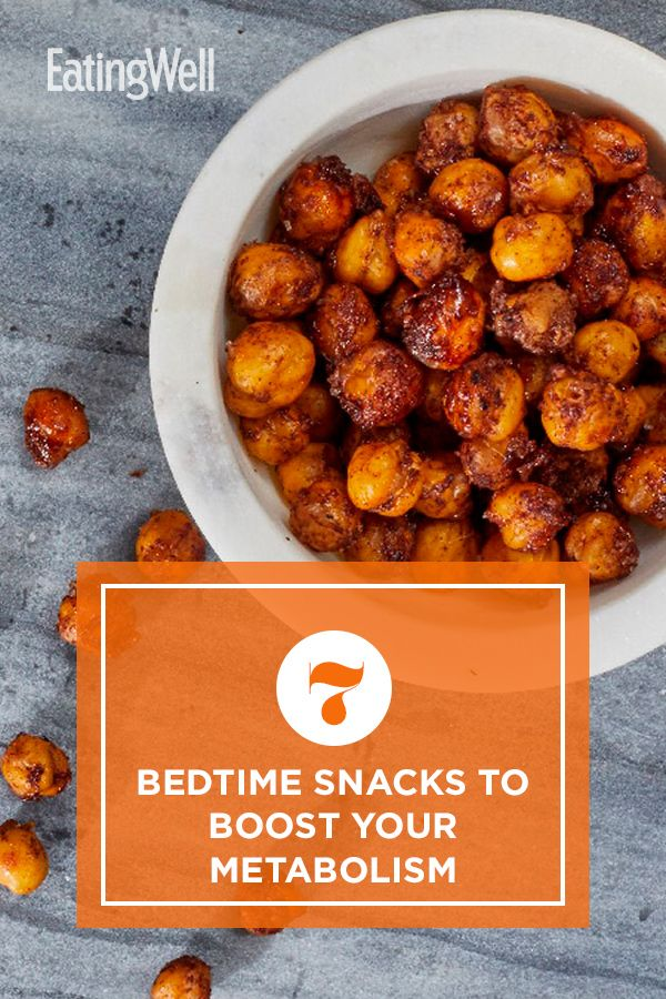7 Bedtime Snacks to Boost Your Metabolism Healthy