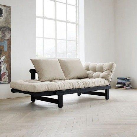 le canap lit beat convertible en lit ou en mridienne finition et qualit - Canape Lit Futon