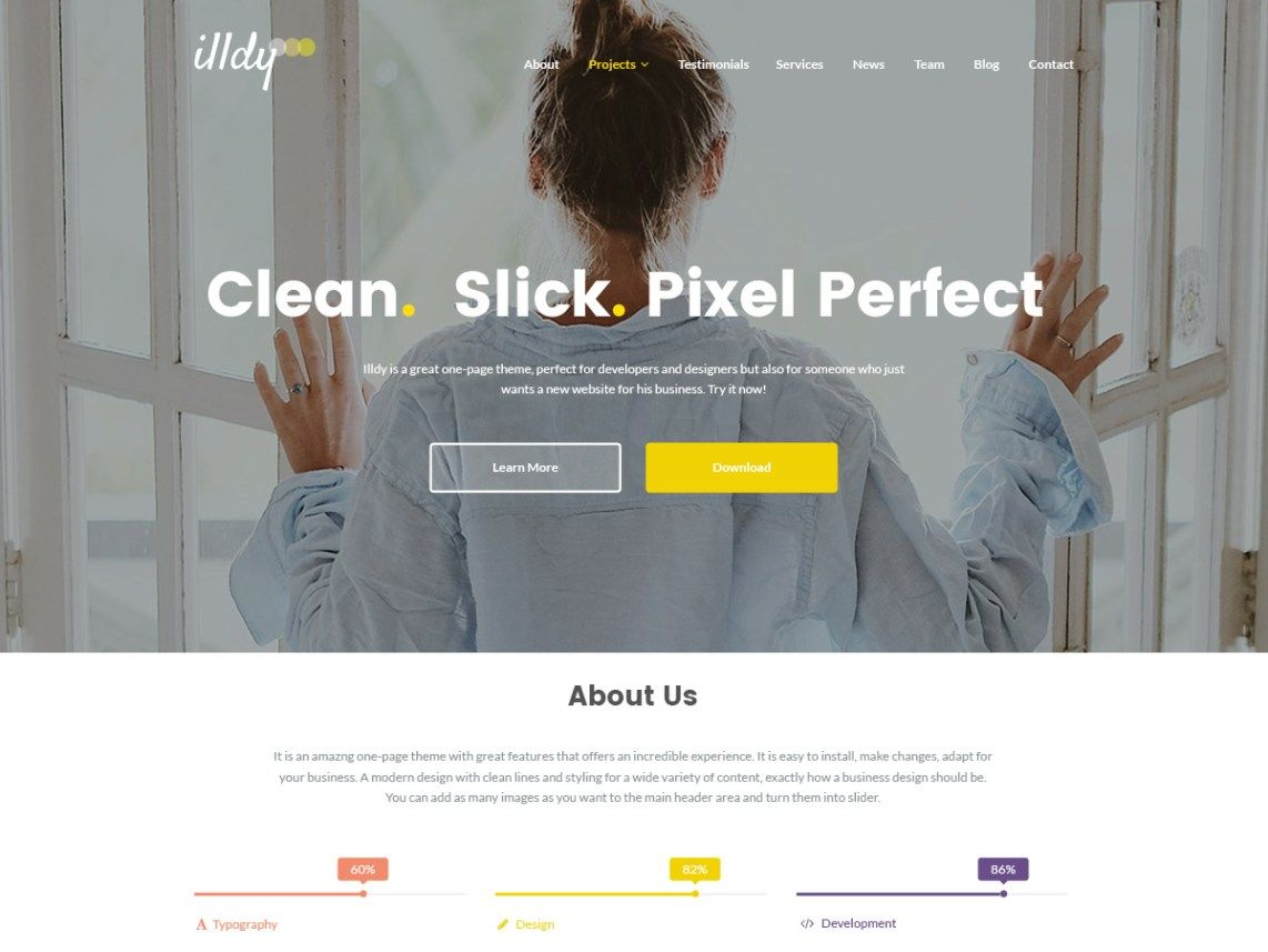Illdy is a dazzling multipurpose WordPress topic fabricated in light ...