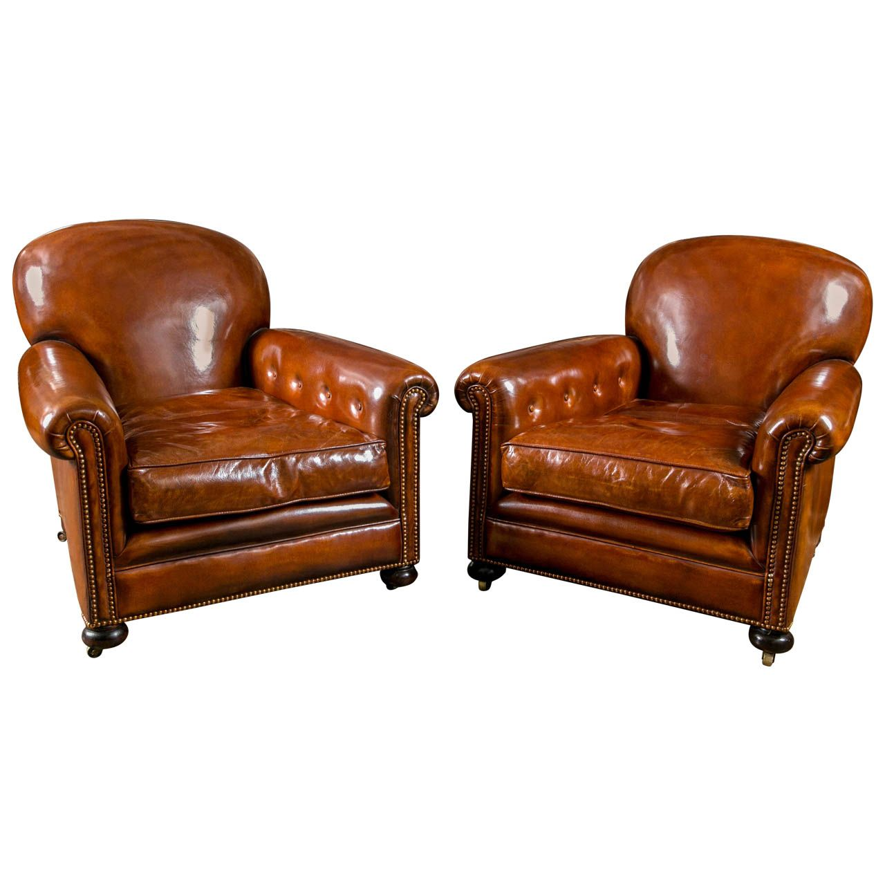 French leather club chairs leather club chairs club