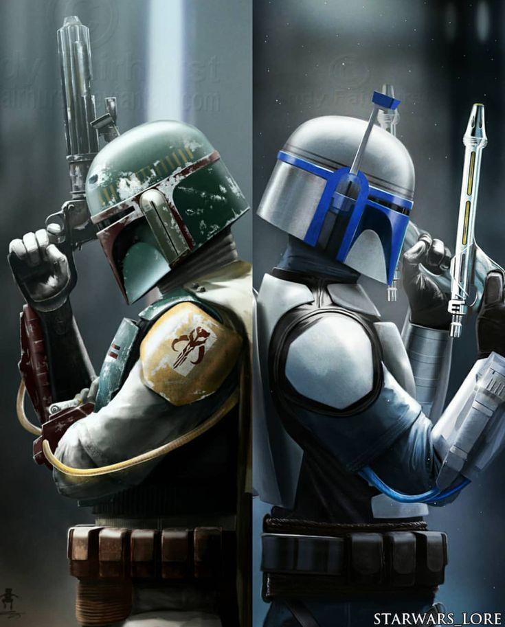 Boba Fett amp Jango Fett - Star Wars Mandalorian - Ideas of Star Wars Mandalorian - Boba Fett amp Jango