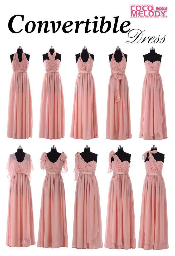 ways to style david\'s bridal bridesmaid dress versa - Google Search ...