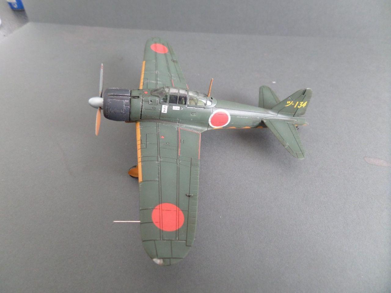1//48 Scale Kit ZEKE Hasegawa JT43 MITSUBISHI A6M2b ZERO TYPE 21