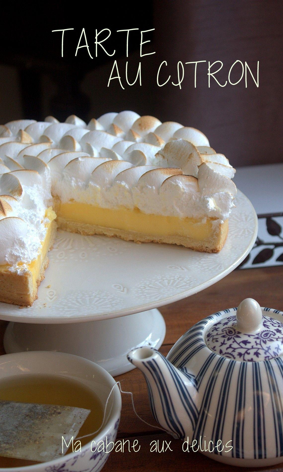 Vraie Recette Tarte Citron Meringuee Recette Food Desserts