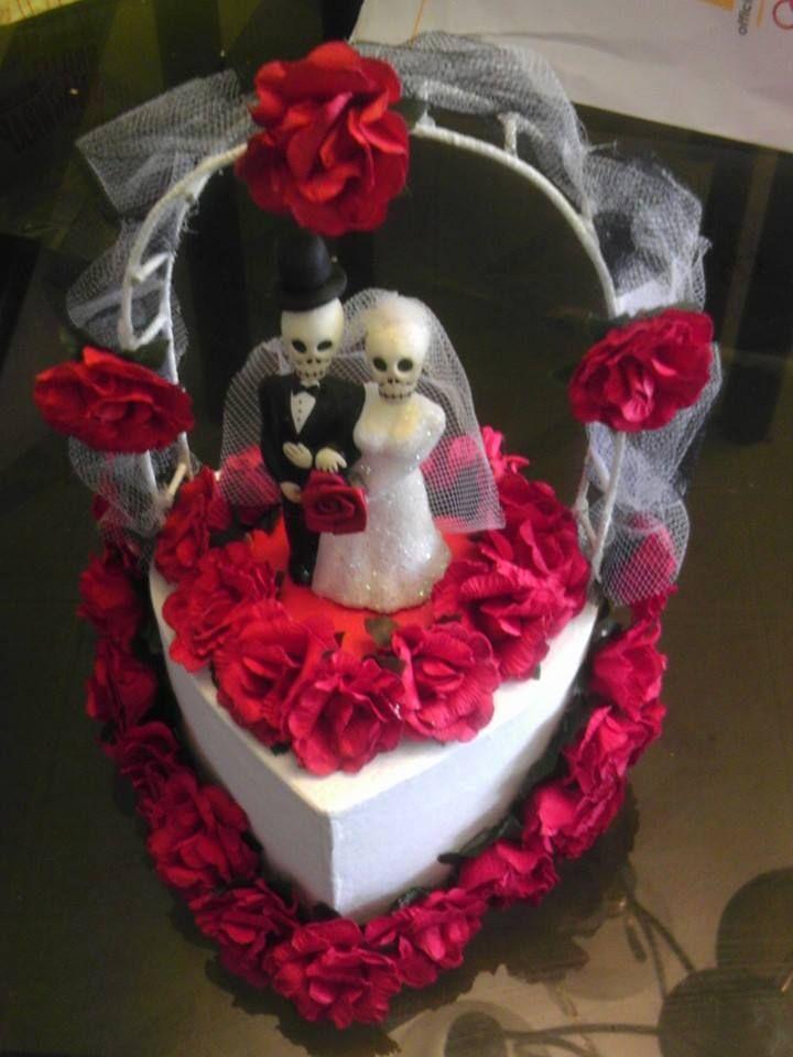 Cake topper. Día de los Muertos wedding.   Dia De Los Muertos ...