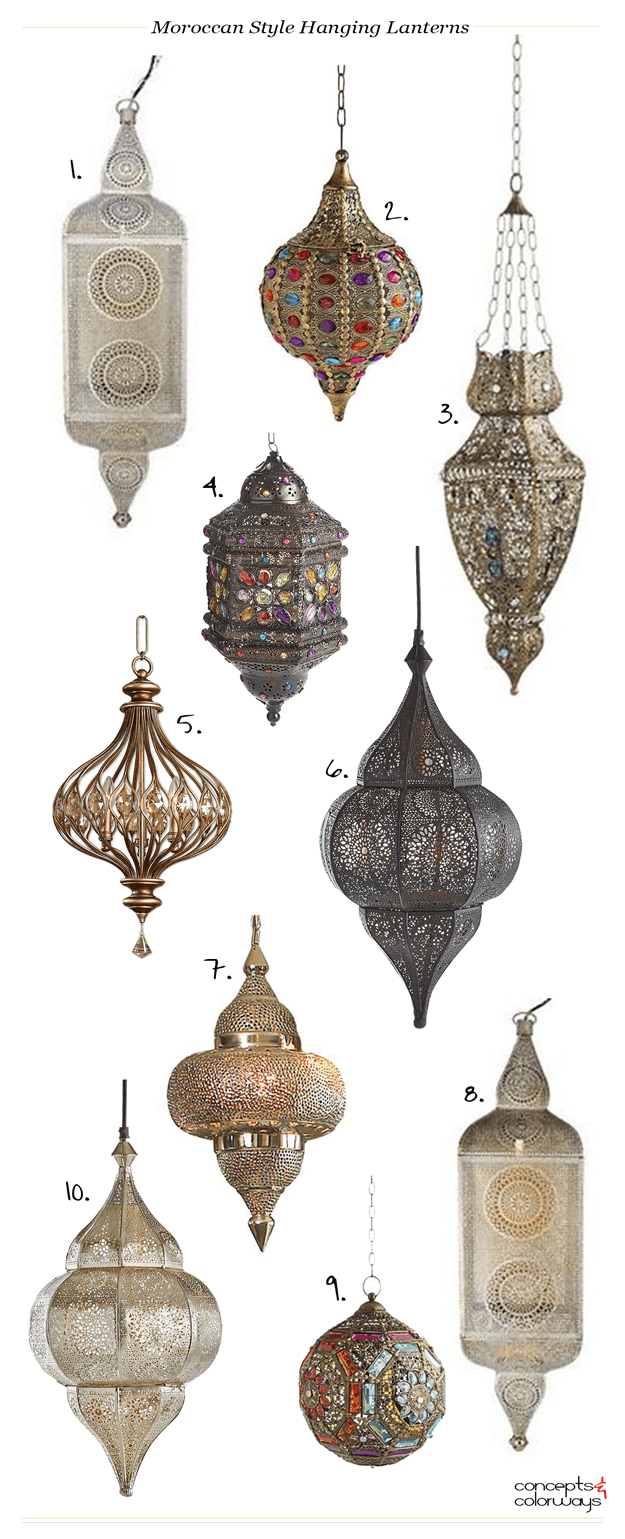 Marrokanische Lampen Moroccan Style Hanging Lanterns Morocco More Than A