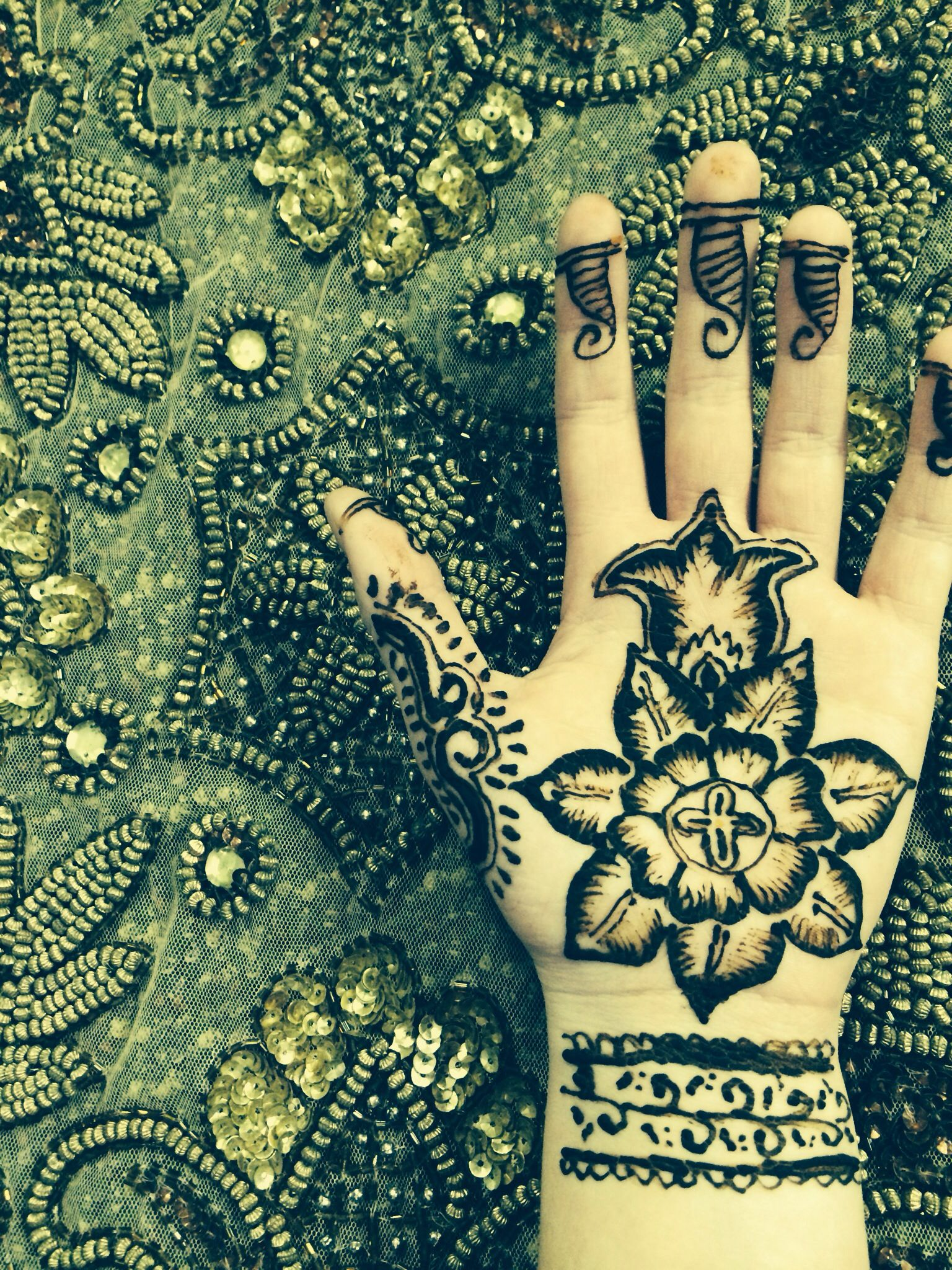 Henna That Tells The Story Of Jesus Christ S Birth Beauty