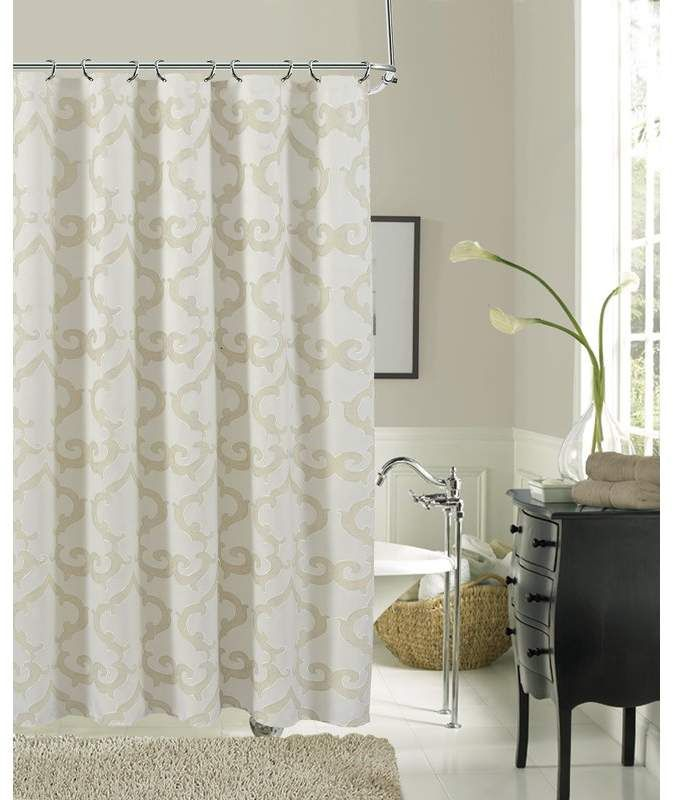 Ellen Tracy Slipcovers Luxembourg Single Shower Curtain Curtains