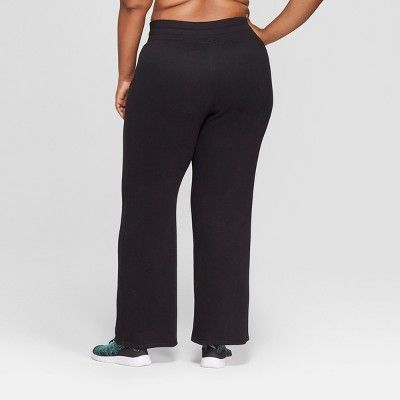 3b574a219cbe Women s Plus Size Authentic Fleece Sweatpants - C9 Champion Black 2X ...
