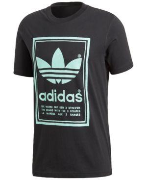 adidas Men's Originals Graphic T Shirt Black S | Adidas