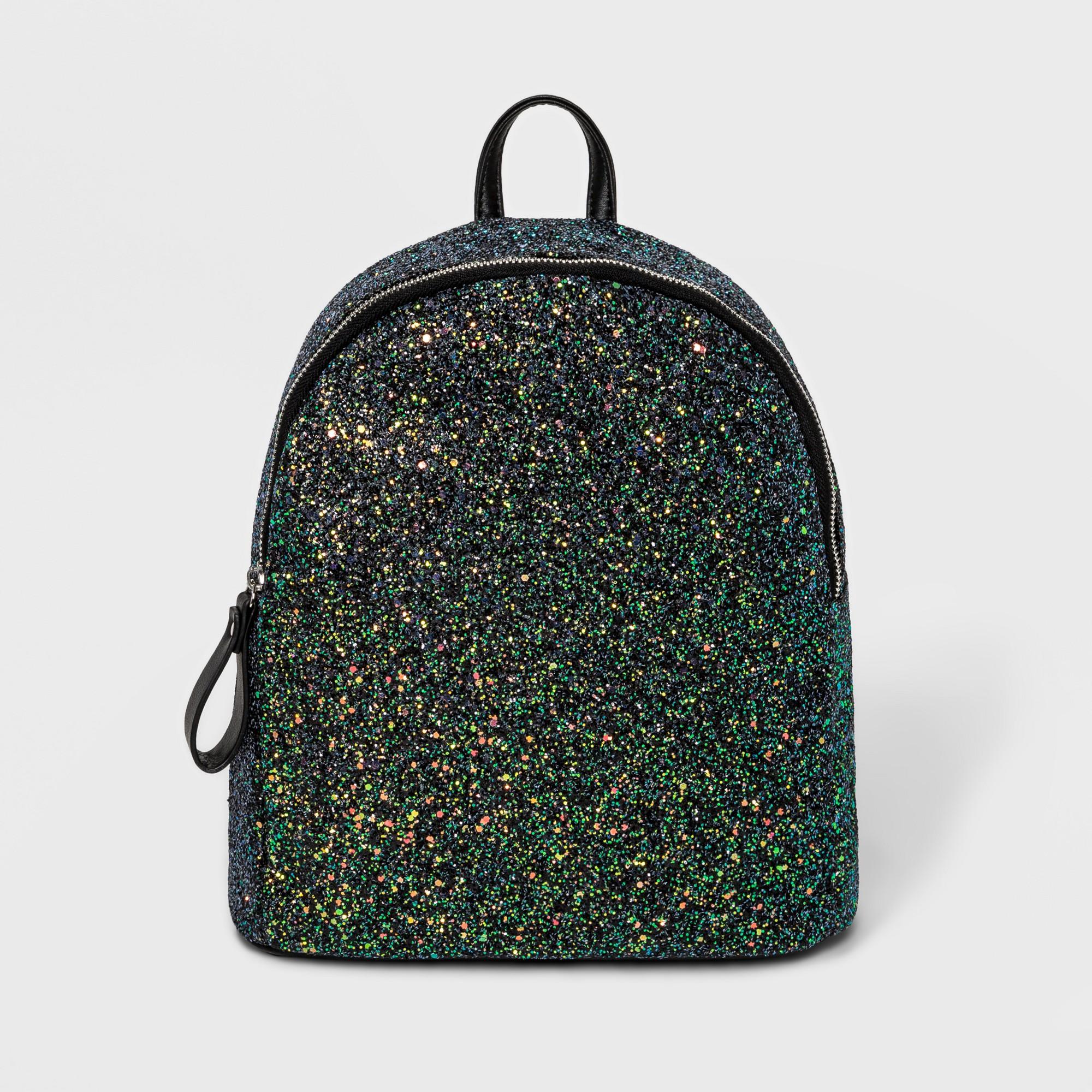 7a2b81a7ac63 Chunky Glitter Backpack - Wild Fable Black