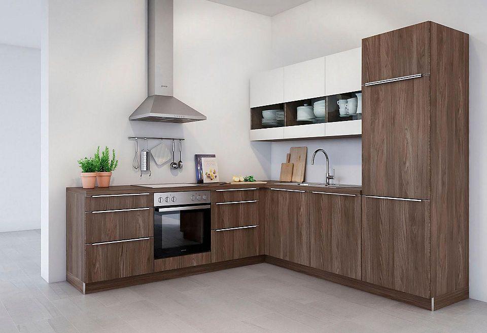 set one by Musterring Winkelküche ohne E-Geräte »Lucca«, Breite - küchenblock ohne e geräte