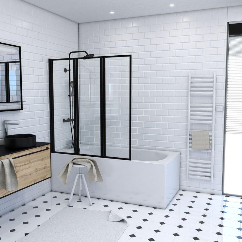 epingle sur paroi baignoire