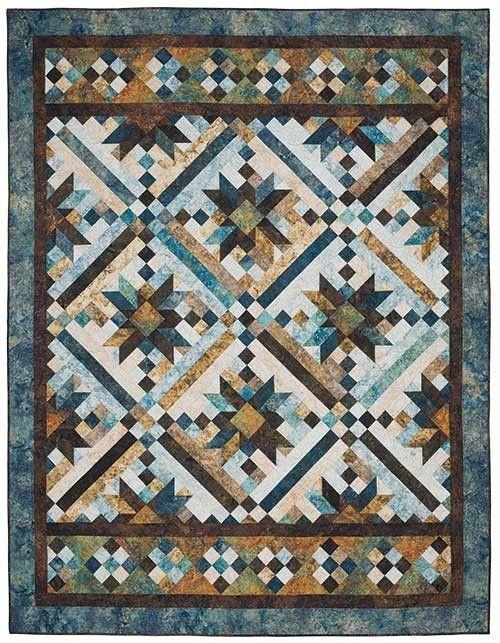 Smokey River Blue Planet Quilt Kit | Keepsake Quilting | quilts ... : keepsake quilting kits - Adamdwight.com