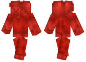 Minecraft Skins Redstone Steve Skin Png Image With Transparent Background Png Free Png Images Minecraft Skins Image Png