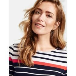 Photo of 3/4 sleeve shirt with multi-colored stripes Blue Gerry WeberGerry Weber