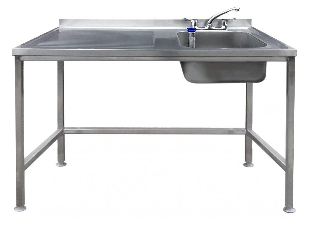 Magna Stainless Steel Catering Sink Left Hand Drainer