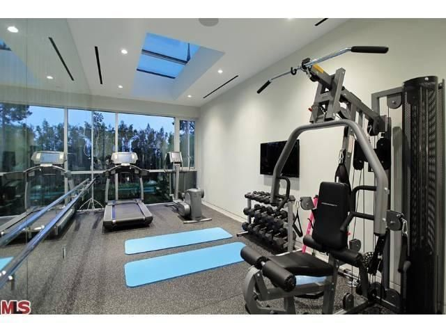 In Home Gym....I Want One Like This!
