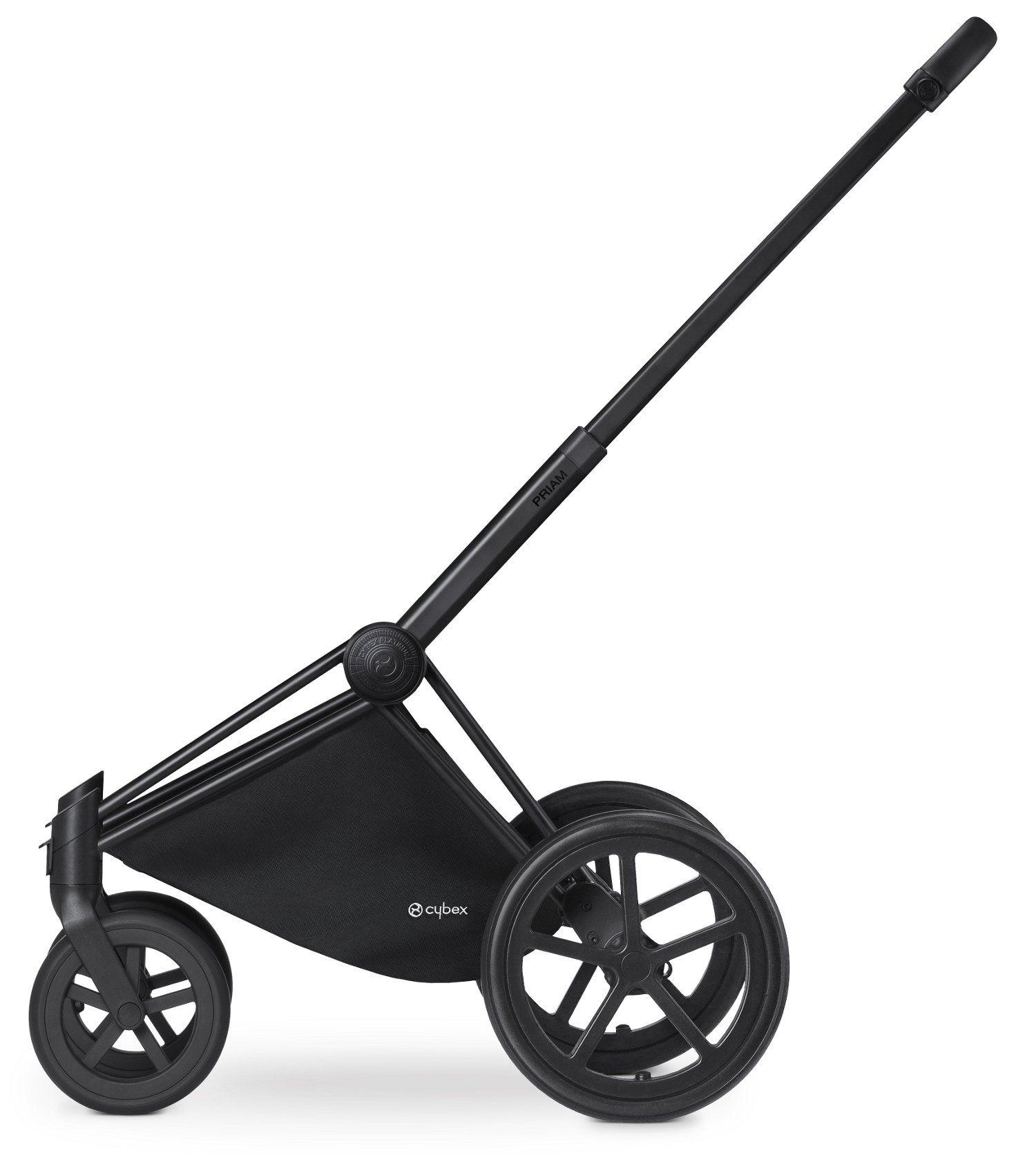 Châssis Priam avec roues Trekking Chrome Black de chez