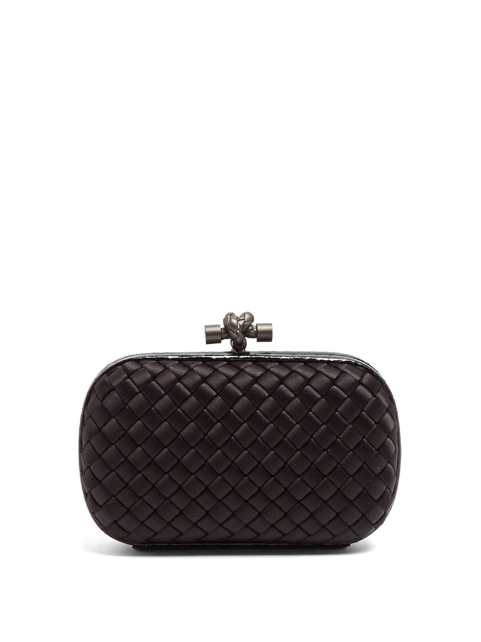 1b814c1c52 Click here to buy Bottega Veneta Knot satin and water-snake clutch at  MATCHESFASHION.COM