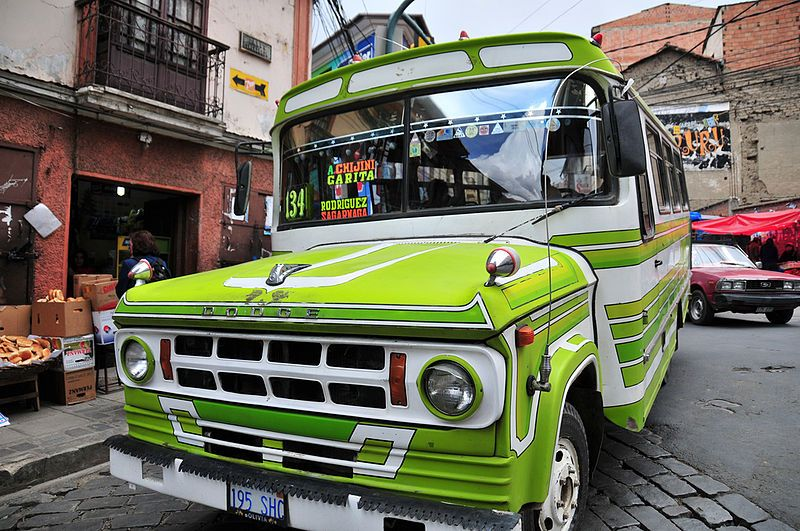 Bus, La Paz, Bolivia